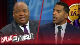 Jim Jackson: Larry Bird not a transformational player, talks KD & LeBron | NBA | SPEAK FOR YOURSELF