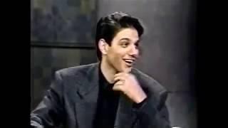 Ralph Macchio full interview on David Letterman (1992)