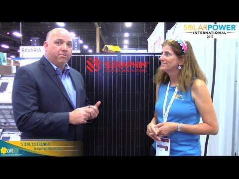 We talk with Seraphim Solar USA at Solar Power International 2017 to discuss their manufacturing plant in Jackson, Mississippi, and what makes their solar panels special. High quality, high bankability, and Made in USA all combine to make great solar panel