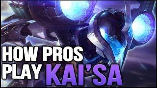 How Pros Play and Build KAI'SA