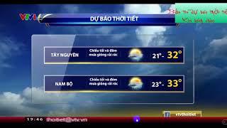 Bản tin dự báo thời tiết ngày 22 /9/2018