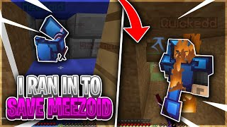 I HAD TO RUN IN TO SAVE MEEZOID *RAIDABLE?* - LIVING ON A SKYBRIDGE #4