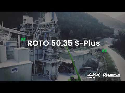 Hüllert Maskin presenterar Merlo ROTO 50.35 S Plus