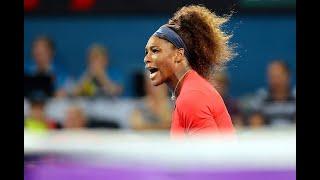 Serena Williams vs Alize Cornet Brisbane 2013 Highlights