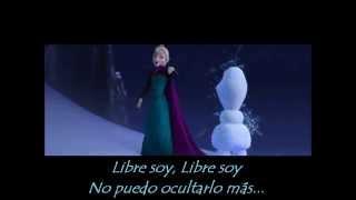 Carmen Sarahí - Libre soy (letra) FROZEN