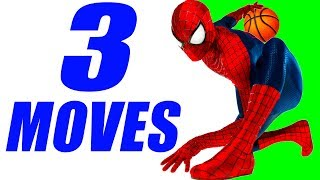 3 Spiderman Basketball Moves Tutorial! How To: Professor Live Ankle Breakers!