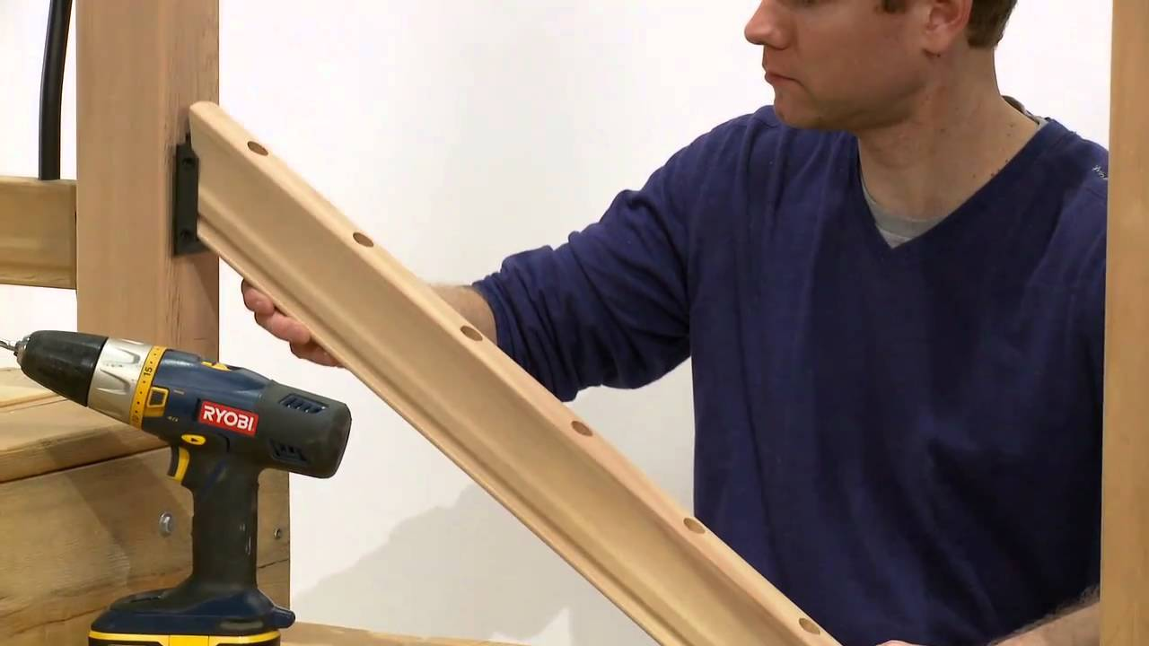 How To Install A Rail Simple Tuscany Stair Railing Kit
