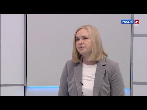 Вести-Интервью. Министр труда, занятости и социальной защиты РК Екатерина Грибкова