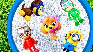 Learn Characters with Surprise Toys and Paw Patrol - Learning Video for Kids
