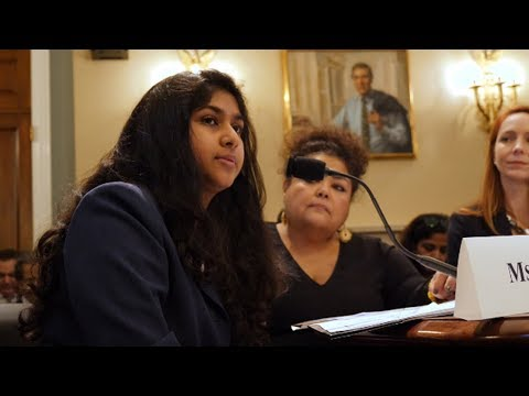 Teen Environmental Activist Tells Congress to Stop Putting