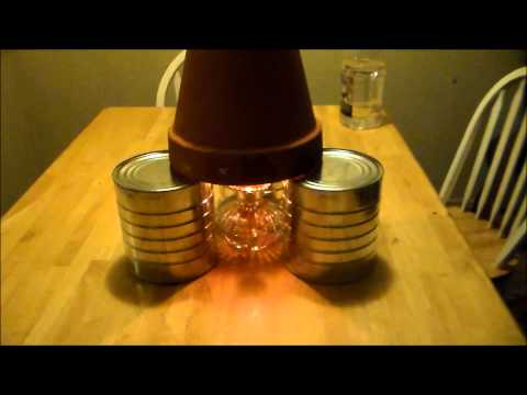 Candle Heater DIY