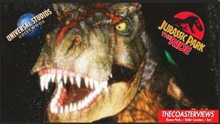 POV Jurassic Park : The Ride River Adventure Universal Studios Hollywood