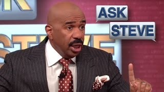 Ask Steve:  My 8 Year Old Is A Player || STEVE HARVEY