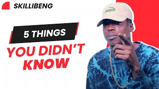SKILLIBENG TELLS YOU 5 THINGS YOU DIDN'T KNOW ABOUT HIM | TCK EXCLUSIVE