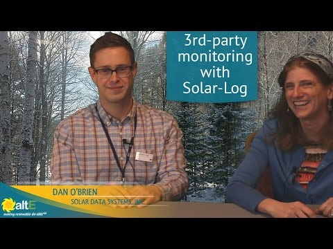 We sit down with Dan O'Brien from Solar Data Systems to discuss their 3rd-party solar monitoring system, Solar-Log. It provides utility grade monitoring of your solar system, with remote monitoring, automatic alerts, and auto reporting for solar incentives