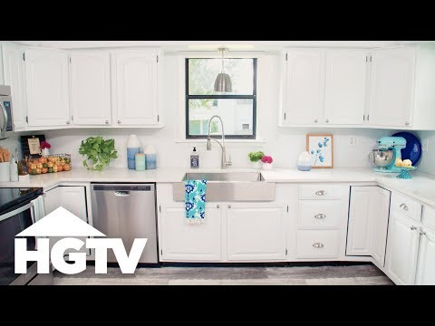 How to Paint Kitchen Cabinets - HGTV