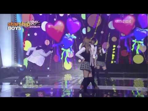 K Will And BoyFriend Minwoo Kwang/Youngmin Performance