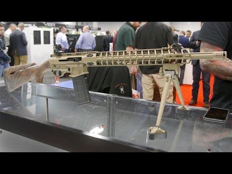 Jesse James' bigger booth and new gun at SHOT 2017