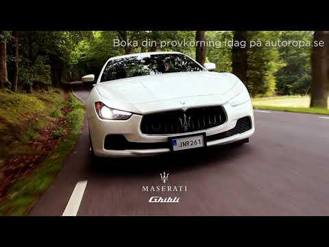 Autoropa - Provkör Maserati Ghibli idag!