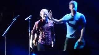 Ed Sheeran & Chris Martin - Thinking Out Loud & Yellow (Live in Foxboro)