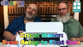 Cricut Maker: From Setup to First Cuts
