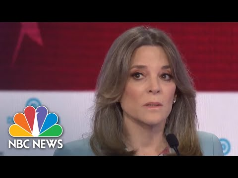 Marianne Williamson: I Will 'Harness Love' To Defeat President Donald Trump | NBC News