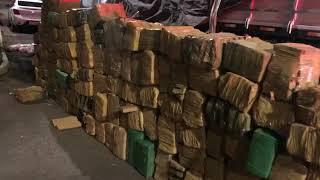 PRF prende três traficantes com duas toneladas de maconha e 85 quilos de cocaína em Paverama