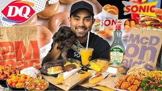 20,000 Calorie Fast Food Cheat Day