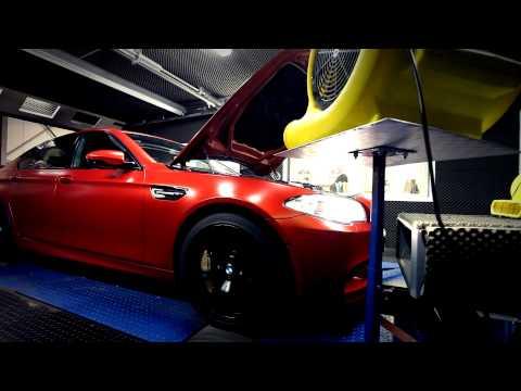 Reprogrammation Moteur BMW M5 F10 par BR-Performance