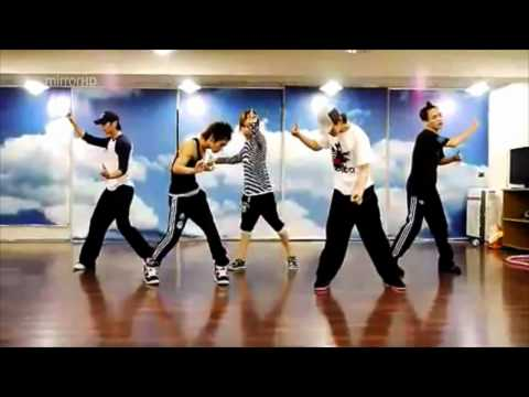 SHINee - Lucifer dance practice mirrored