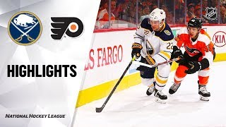 NHL Highlights | Sabres @ Flyers 12/19/19