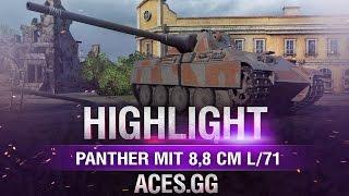 Когда легко. Panther mit 8,8 cm L/71