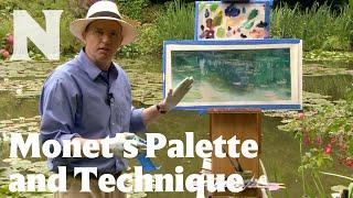 Monet's Palette and Technique