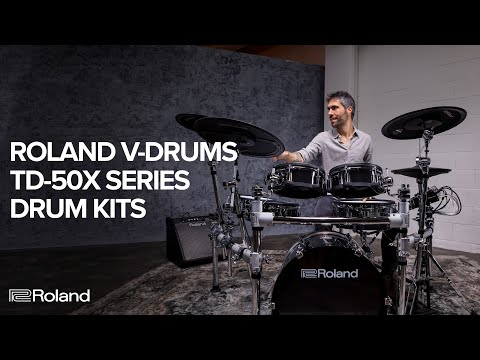 Vidéo Introducing the Roland V-Drums TD-50X Series Electronic Drum Kits (feat. TD-50KV2)