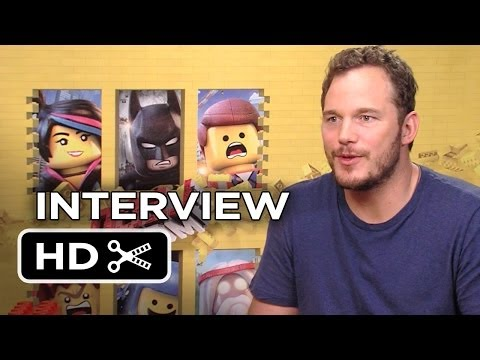 The Lego Movie Interview - Chris Pratt (2014) - Animated Movie HD ...