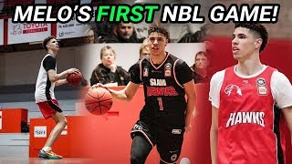 LaMelo Ball's FIRST NBL GAME In Australia!! This Year's About To Be CRAZY (FULL HIGHLIGHTS) 😱