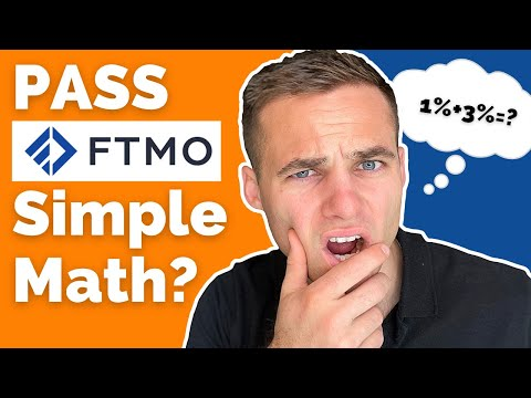 Pass The FTMO Challenge With SIMPLE MATH   Best FTMO Challenge Strategy