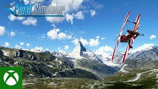 Microsoft Flight Simulator travels to the Alps