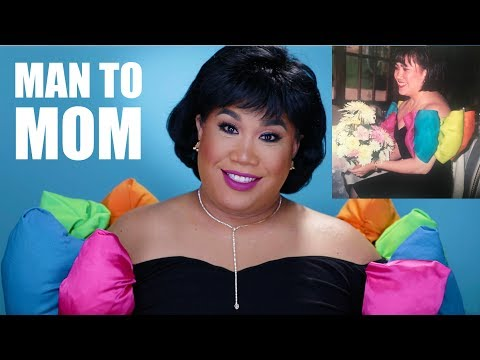 RECREATING MY MOMS HAIR AND MAKEUP | PatrickStarrr
