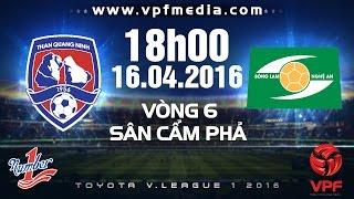 Than Quảng Ninh vs SLNA - V.League 1 - 2016 | FULL