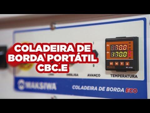 Coladeira de Bordas Portátil Cbc.e Maksiwa – 220V - Vídeo explicativo