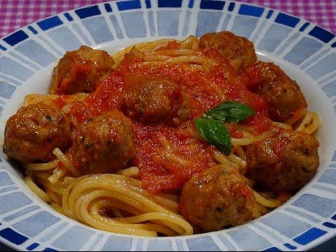 Cocinar espagueti rojo con alb ndigas f cil y r pido for Como cocinar espagueti