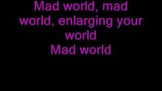 Mad World -Gary Jules (lyrics)