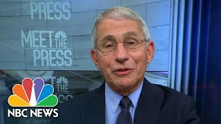 Dr. Fauci: Reports Of A Spent Vaccine Stockpile Was 'Just A Misunderstanding'   Meet The Press