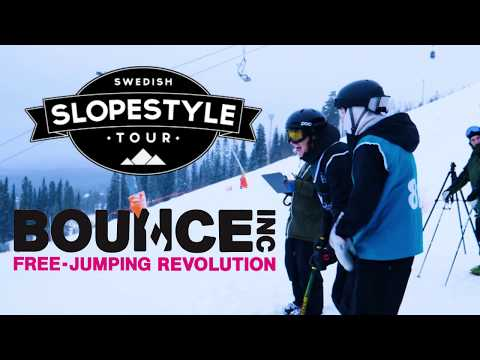 Swedish Slopestyle Tour 2018 Kläppen | BOUNCE Sweden