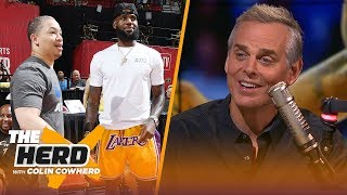 Raptors are too 'one-sided,' Colin says Lakers are now a better version of Cavs | NBA | THE HERD