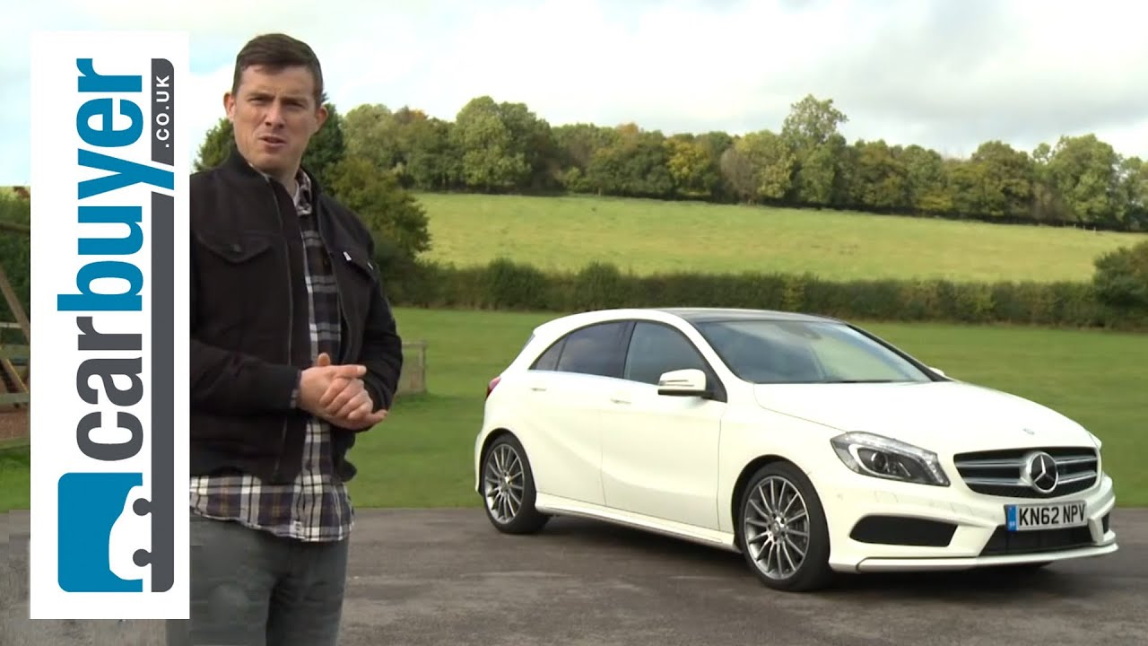 mercedes a class hatchback 2013 review carbuyer youtube. Black Bedroom Furniture Sets. Home Design Ideas