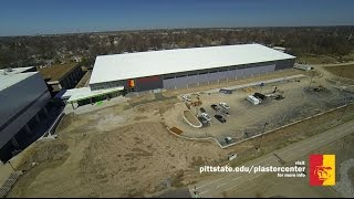 QUICK VIEW: Construction Progress on Robert W. Plaster Center