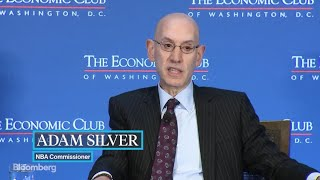 NBA Commissioner Adam Silver on The David Rubenstein Show