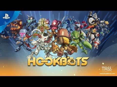 Hookbots - Release Trailer   PS4